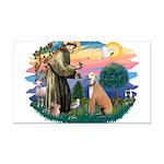 St.Francis #2/ Greyhound Rectangle Car Magnet