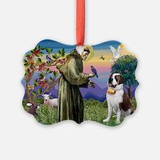 St. Francis/ St. Bernard Ornament