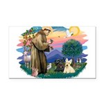 St.Francis #2/ Scottys (2) Rectangle Car Magnet