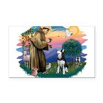 St.Francis #2/ Siberian H #1 Rectangle Car Magnet