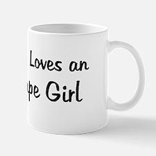 Arch Cape Girl Mug