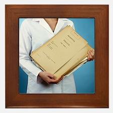 Medical records - Framed Tile