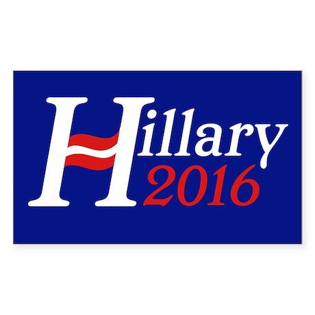 Hillary 2016 Sticker (Rectangle)