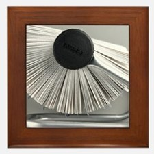 Rolodex - Framed Tile