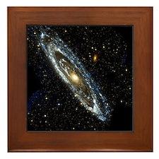 Andromeda Galaxy, UV image - Framed Tile