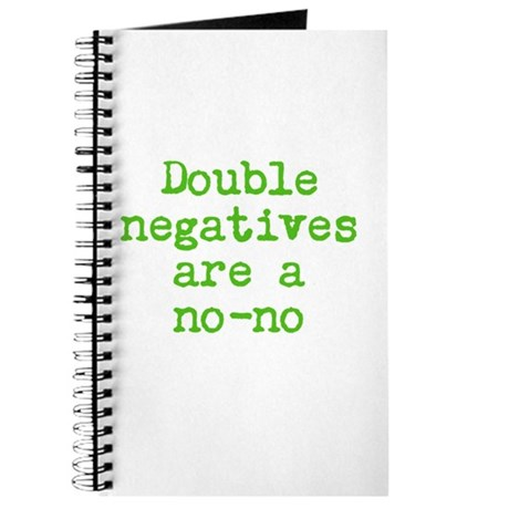 Double Negative Journal