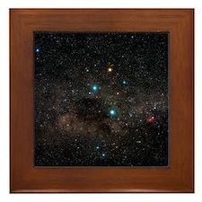 Crux constellation - Framed Tile