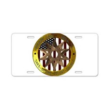 Area 51 SSSS Badge Aluminum License Plate