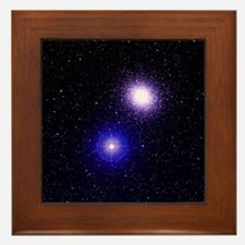 Globular cluster M5 - Framed Tile