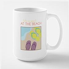 Life Is Good Large Mug