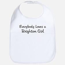 Brighton Girl Bib