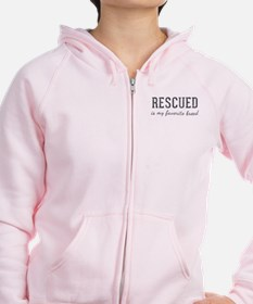 Rescued is Zip Hoodie
