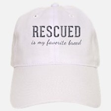 Rescued is Baseball Baseball Cap