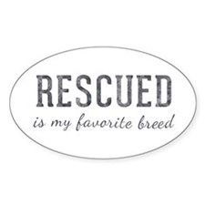 Rescued is Decal