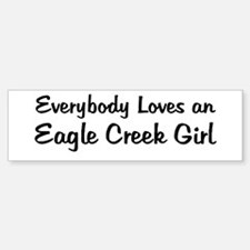 Eagle Creek Girl Bumper Bumper Bumper Sticker