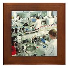 Chemistry laboratory - Framed Tile