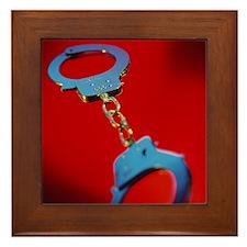 Handcuffs - Framed Tile
