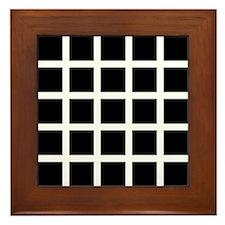 Hermann grid - Framed Tile