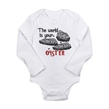 Your Oyster Long Sleeve Infant Bodysuit