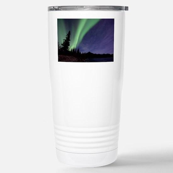 Aurora borealis - Stainless Steel Travel Mug