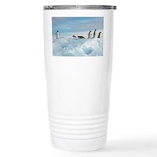 Adelie penguins - Travel Mug