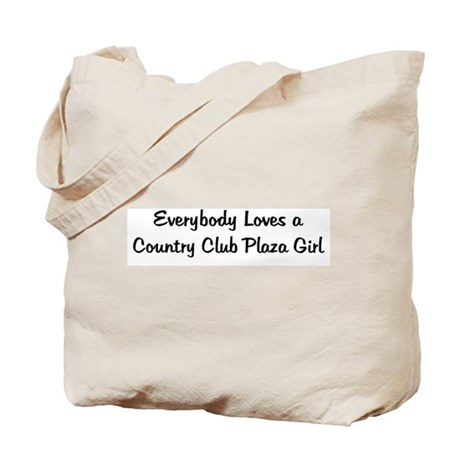 Country Club Plaza Girl Tote Bag