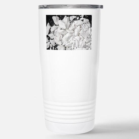 Borax crystals - Stainless Steel Travel Mug
