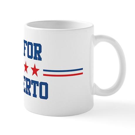 Vote for HUMBERTO Mug