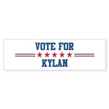 Vote for KYLAN Bumper Bumper Sticker