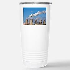 Chimney and cooling tower - Travel Mug