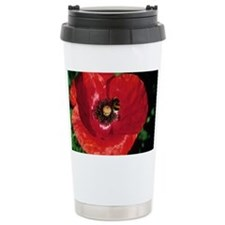 Corn poppy flower - Travel Mug