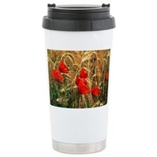 Corn poppy flowers - Travel Mug
