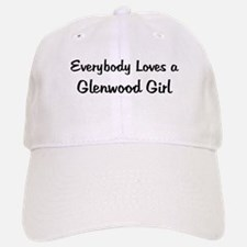 Glenwood Girl Baseball Baseball Cap