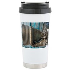 F1 engine on the Saturn V rocket - Travel Mug