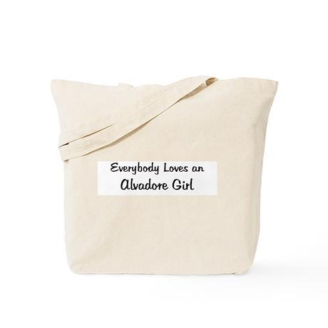Alvadore Girl Tote Bag
