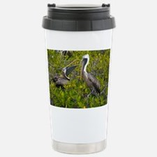 Galapagos brown pelican - Travel Mug