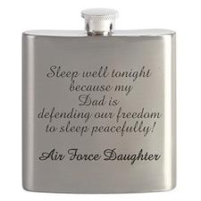AF Daughter Sleep Peaceful Dad Flask