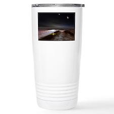 Jupiter and its moons, artwork - Travel Mug
