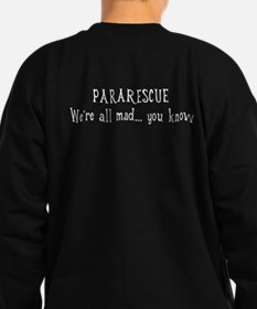 PARARESCUE - Cheshire Cat Sweatshirt (dark)