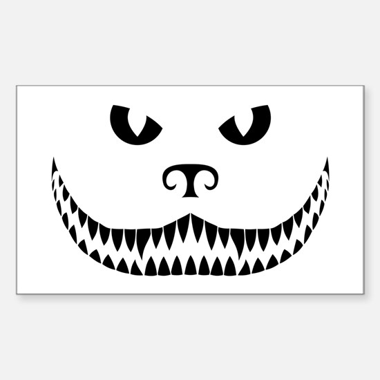PARARESCUE - Cheshire Cat Sticker (Rectangle)