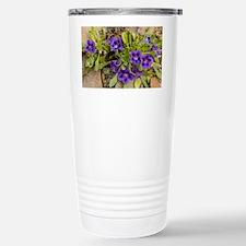 Karoo violets (Aptosimum indivisum) - Travel Mug