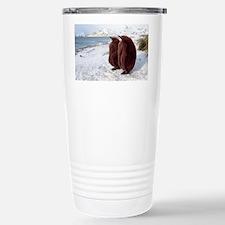 King penguin chicks - Stainless Steel Travel Mug