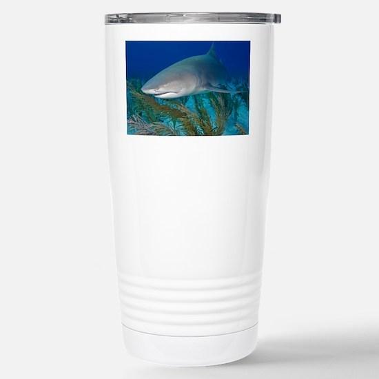 Lemon shark - Stainless Steel Travel Mug