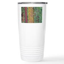 Lichens on tree - Travel Coffee Mug