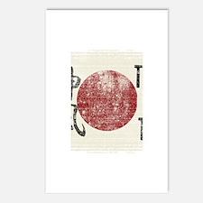 Kamikaze flag Postcards (Package of 8)