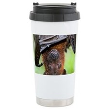 Malayan Flying Fox - Travel Coffee Mug