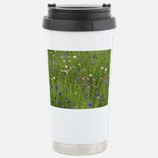 Meadow flowers - Stainless Steel Travel Mug