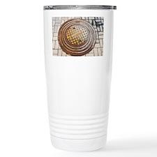 Manhole cover - Travel Mug