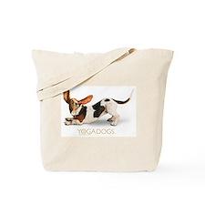 Cute Bassett hound Tote Bag