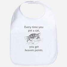 Cat Heaven Points Bib